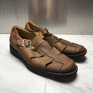 Johnson & Murphy leather sandal shoes